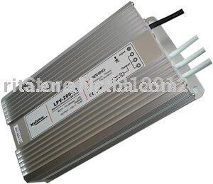 Alimentation étanche 12 V/20A/250 W; entrée AC110/220 V; CE approuvé