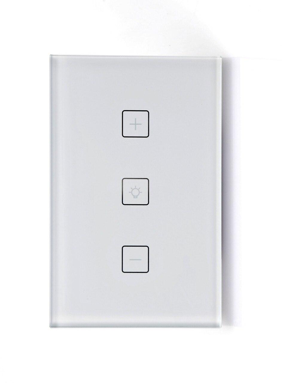 Commutateur de gradation de mur de maison intelligente de Wifi commutateur de gradation sans fil commande vocale d'alexa
