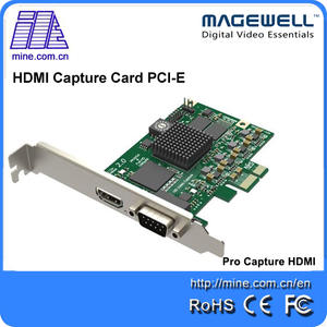 HDMI Generation 2 cctv pcie video capture card h.264 fulled 2048 P sdi dvr standard