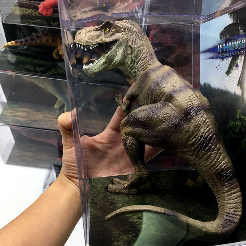 Simulation Animal Dinosaur Toy Jurassic Dinosaur TPR Solid Simulation Dinosaur Soft Plastic Model Children's Educational Toys St