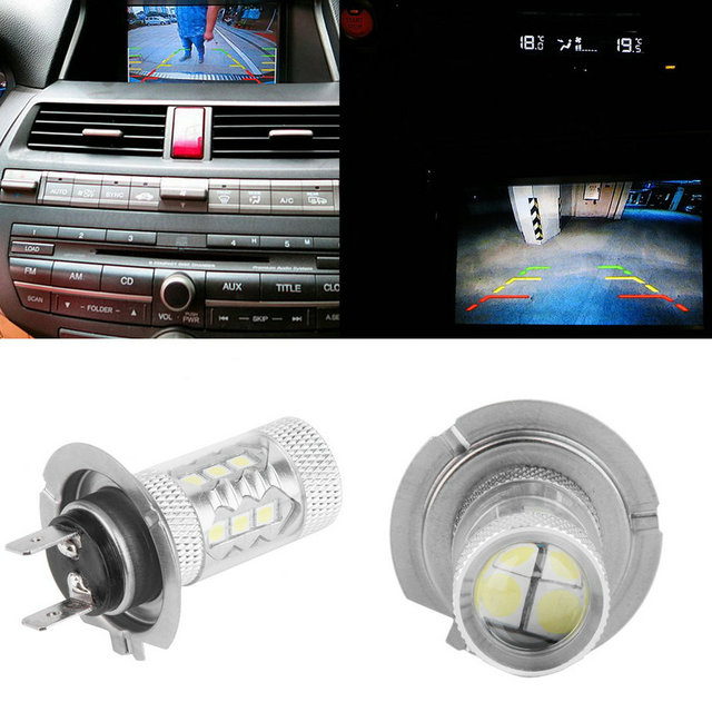 Новый Большой Продвижение H7 80 Вт High Power LED Автомобилей Авто вождение Противотуманные Фары Хвост Фары Лампа Белый 12 В горячие продавать