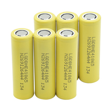 1/2/4/6/8/10 Pieces High Quality Rechargeable 18650 Li-ion Batteries 3.7V Volt 2500mAh Flat-top Lithium Battery