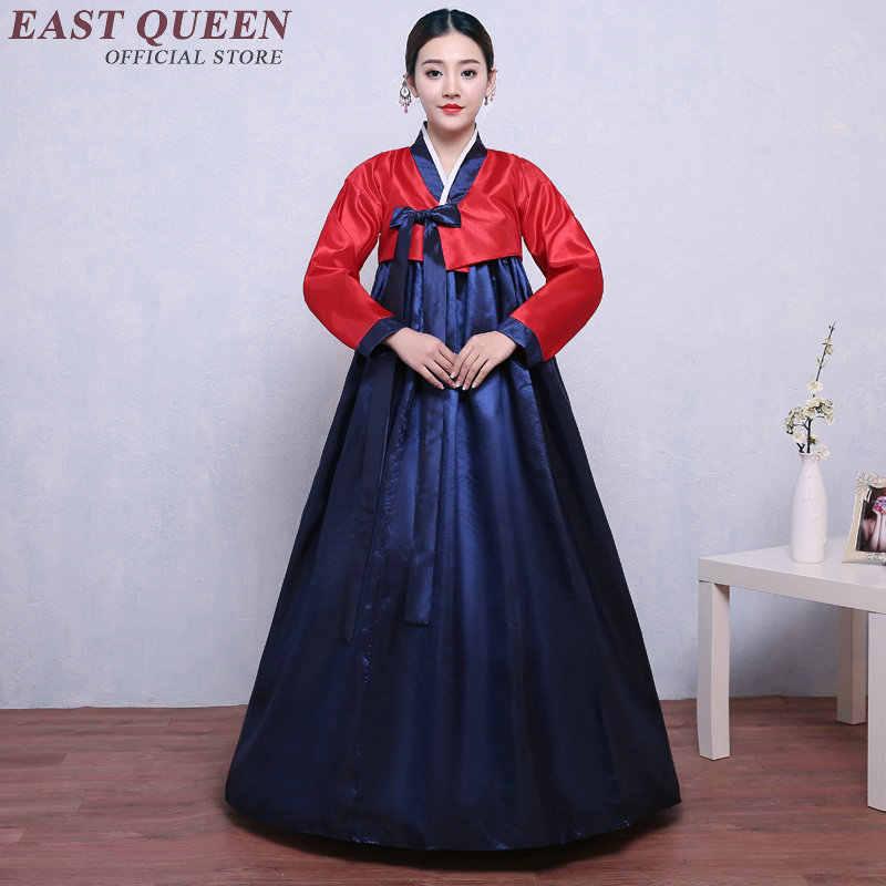 קוריאני hanbok חתונה שמלת קוספליי ביצועים קוריאני מסורתי שמלת בגדים בסגנון קוריאני לאומי תלבושות hanbok NN0906