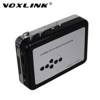 VOXLINK USB Cassette Player e Converter Convertire Vecchio Nastro a Formato MP3 in TF/Micro SD Card Supporto Batteria AA o USB-powered