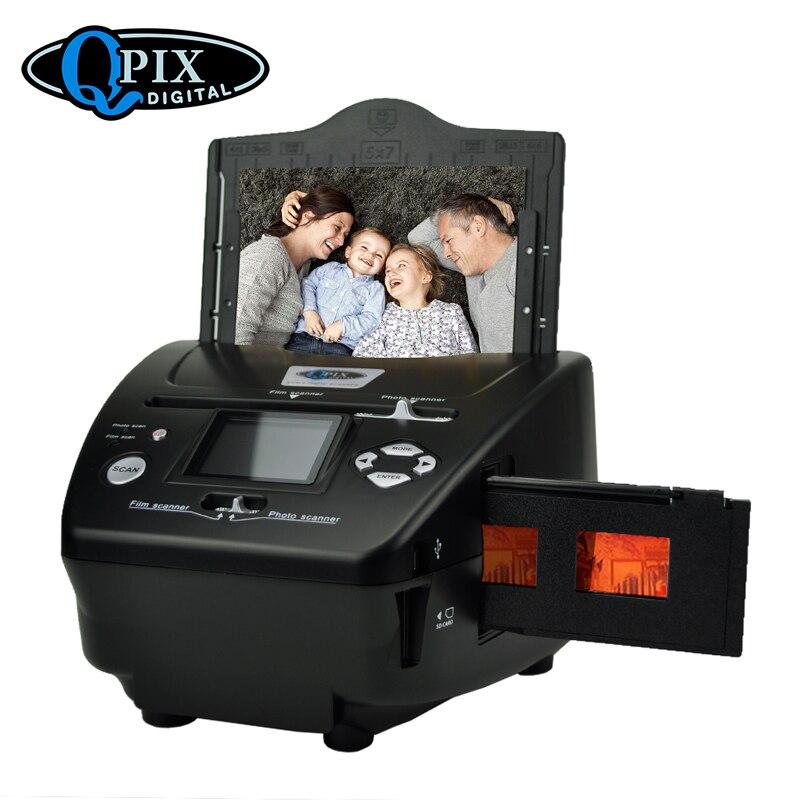 2,4 дюймов 8,1 мегапикселей 4 в 1 фото и пленка сканер 135 отрицательный сканер фото сканер комбинированный сканер с CE/FCC/ROHS