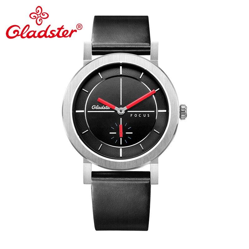 Gladster Japan MIYOTA 1L45 Lady Quartz Wristwatch Waterproof Sapphire Crystal Women Analog Watch Casual Individual Female Clock