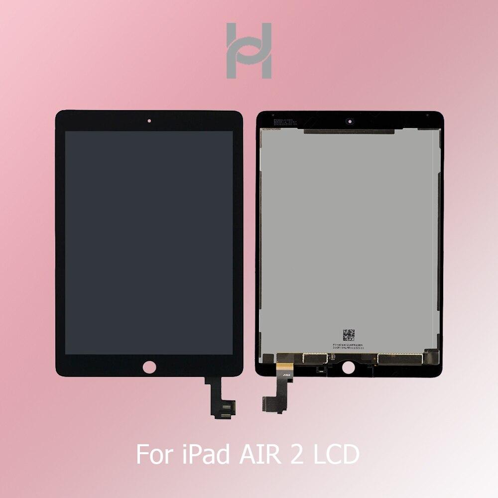 AAA Grade qualité nouveau LCD pour Apple iPad Air 2 A1566 A1567 LCD affichage assemblée écran tactile numériseur panneau de remplacement