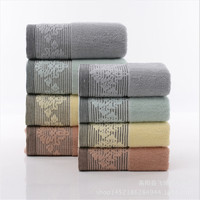 High Quality Towel Bath Towel Suit 100 Cotton Terry Cloth 3pcs Set 2pcs Towel 1pcs Bath