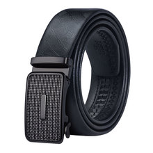 DK-0015 New Arrive Famous Brand Belts 100% Genuine Leather Straps New Disigner Automatic Cintos For Male With Jeans Waistbands.(China)