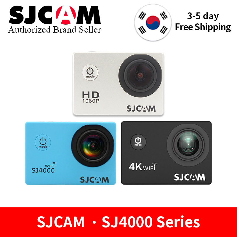 Original SJCAM SJ4000 Series Action Video Camera 1080P Full HD SJ4000Wifi 4000AIR 4000 2 0 LCD