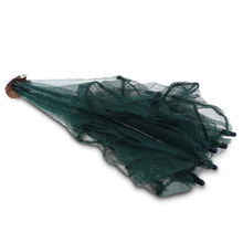 Fishing Net 6 Small Hole Mesh Hexagon Folded Fishing Net Lobster Basket Cage Catch Fish Pot Minnow Trap Ruse Cast Shrimp Net