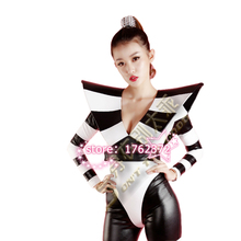 2017 new style fashion women stage costume for singers female singer dj ds stage costume nightclub dancer clothing performance