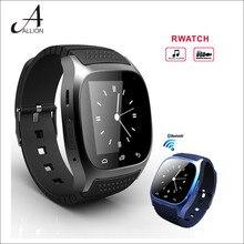 Bluetooth Smart Uhr Android Smartwatch M26 mit LED Barometer alitmeter Schrittzähler für Android IOS Telefon Reloj Inteligente