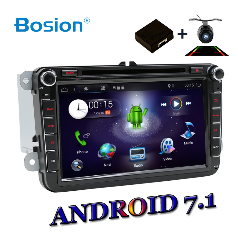 2 DIN 4 Core Android 7 9 Car DVD GPS WIFI USB SD For Volkswagen GOLF