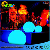 Colorful Wedding Decoration PE Material Waterproof LED Ball Used In Pool Garden Decoration