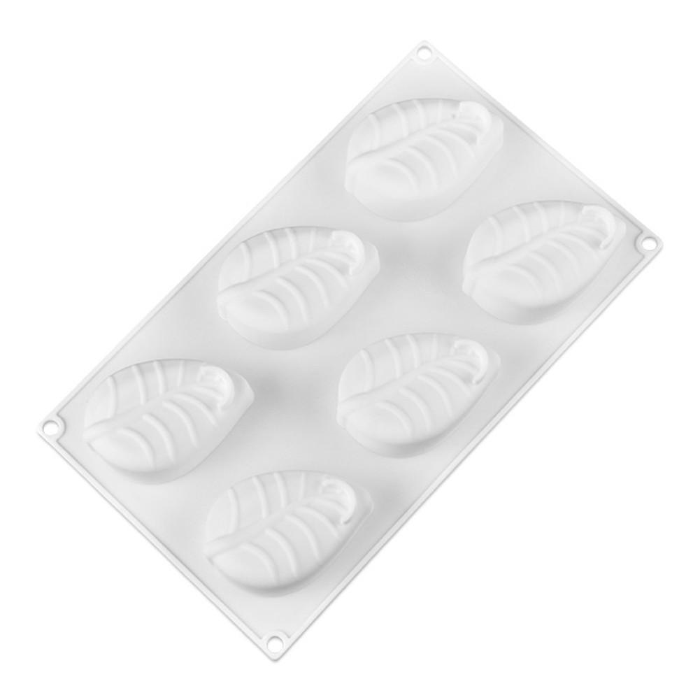 Tree Leaf Silicone Mold Cake Decorating 6 Cavity  Leaf Leaves Shaped Mousse Molds for Tools Non-stick DIY baking Cake Moulds #AW