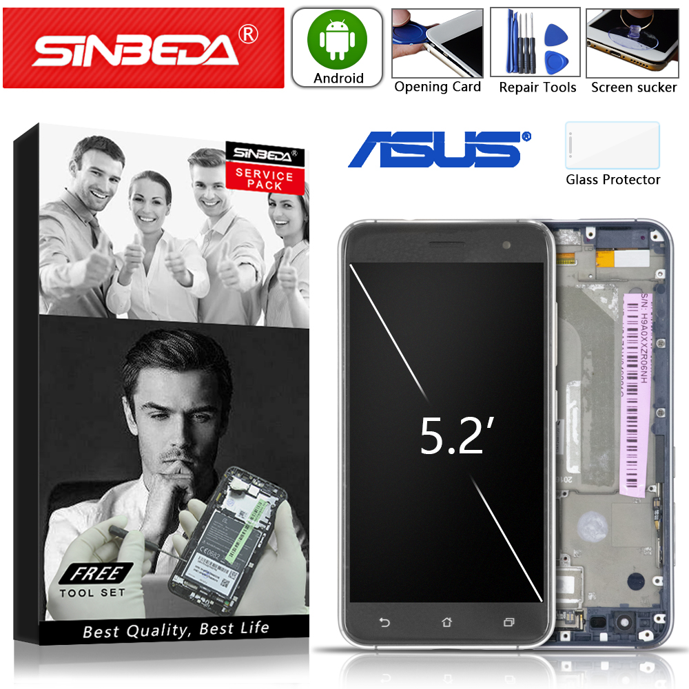 5.2 Original LCD For ASUS Zenfone 3 ZE520KL Display Touch Screen with Frame for ASUS Zenfone 3 ZE520KL LCD Z017D Z017DA Z017DB5.2 Original LCD For ASUS Zenfone 3 ZE520KL Display Touch Screen with Frame for ASUS Zenfone 3 ZE520KL LCD Z017D Z017DA Z017DB