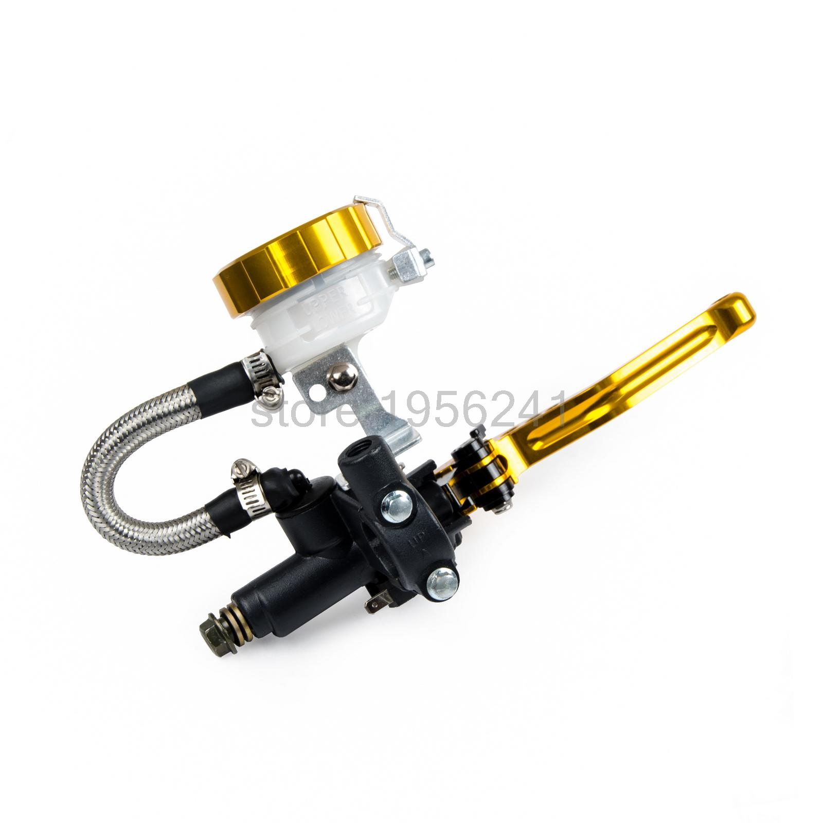 Aliexpress com buy new motocross 7 8 brake master cylinder reservoir lever for suzuki rmz 250 450 rm85 125 250 dr250r drz400s sm rmx250s from reliable