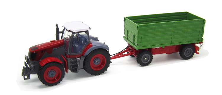 Remote Control Tractor Trailer Trucks : Multifunctional trailer rc tractor truck engineering