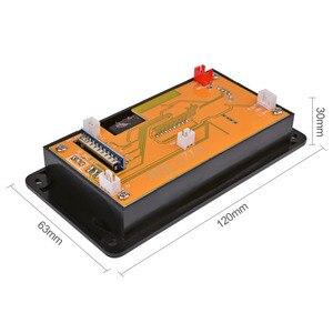 Image 4 - AIYIMA Módulo de Audio con decodificador MP3, 12V, 4,2 Bluetooth, pantalla de espectro, sin pérdida, APE, decodificador, compatible con aplicación EQ, FM, AUX, accesorios para coche