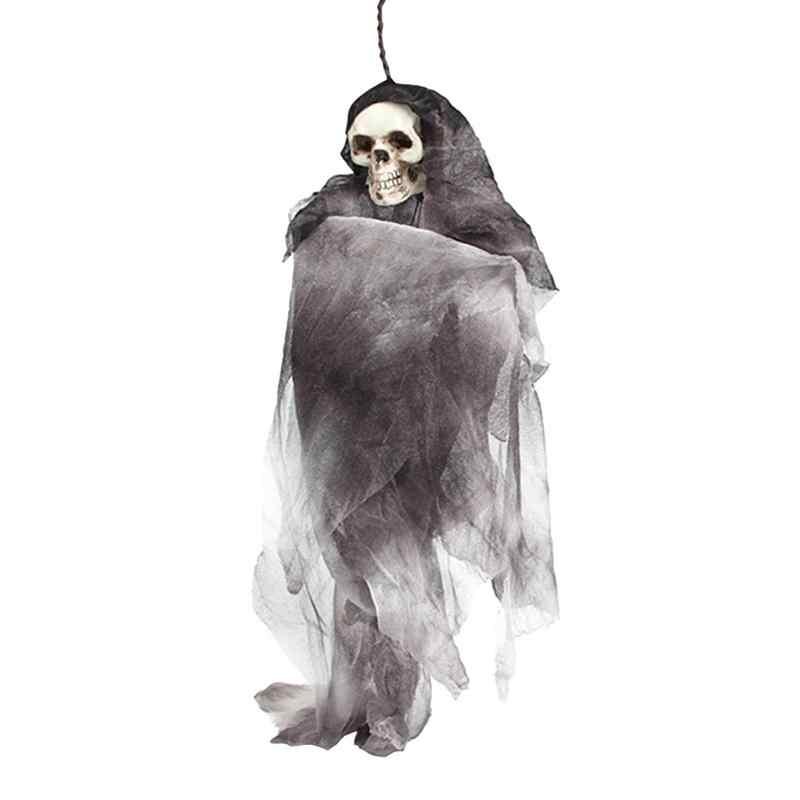Хэллоуин страшный череп кукла дом с привидениями жуткий Жуткий Новинка Хэллоуин украшения реквизит