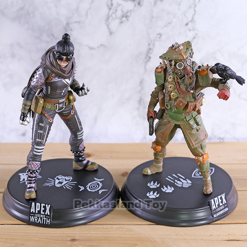 Anime Game <font><b>Apex</b></font> legends Bloodhound Wraith PVC Figure Model <font><b>Toys</b></font> image