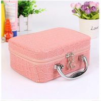 7 Colors Make Up Organizer Bags Women Casual Lovely Large Capacity Waterproof Cosmetic Bag MultifunctionTravel Makeup