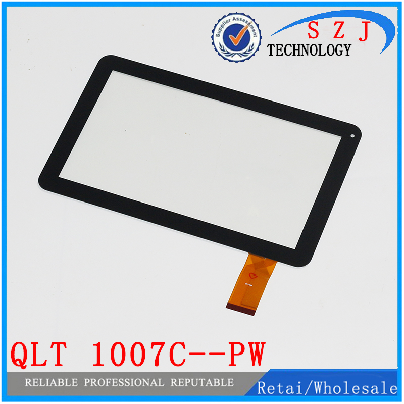 Original 10.1 inch QLT 1007C--PW QLT 1007C Tablet Capacitive touch screen Touch panel Digitizer Glass Sensor Free Shipping