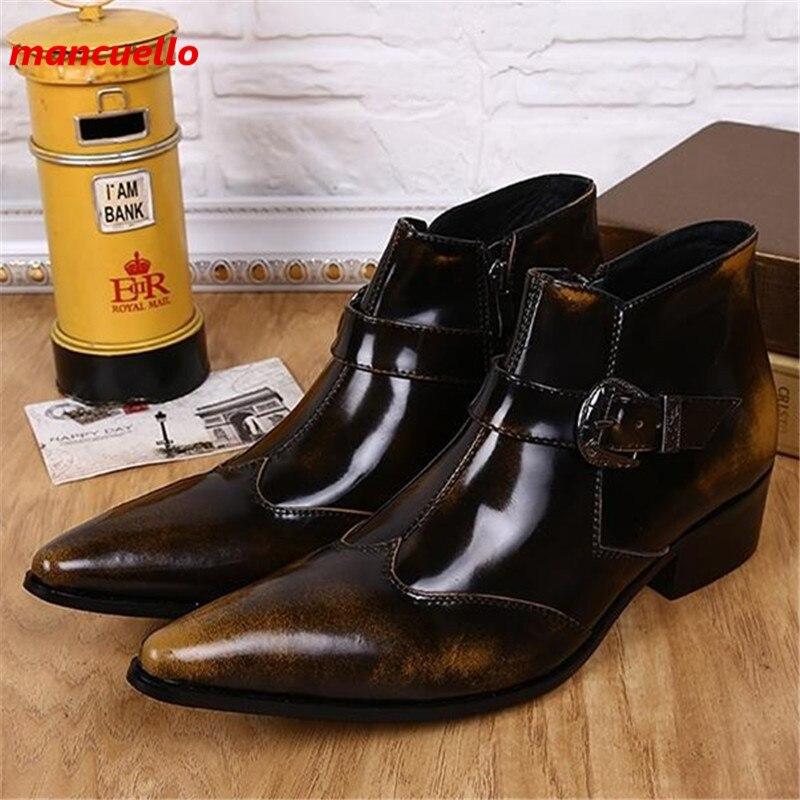 Online Get Cheap Fashion Cowboy Boots for Men -Aliexpress.com ...
