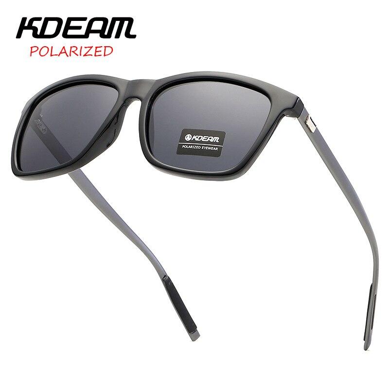 2019 Sonnenbrille Für Männer Von Kdeam Fahren Polarisierte Sonnenbrille Männer Mode Pilot Uv400 Eye-schutz Männlichen Sport Sonnenbrille Um Das KöRpergewicht Zu Reduzieren Und Das Leben Zu VerläNgern