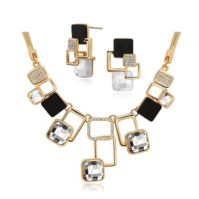 Geometry Play Jewelry Set