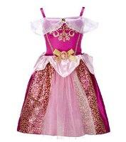 Girls Dress Belle Cinderella Dress Rapunzel Elsa Costume Snow White Girls Christmas Dress Kids Halloween Costume