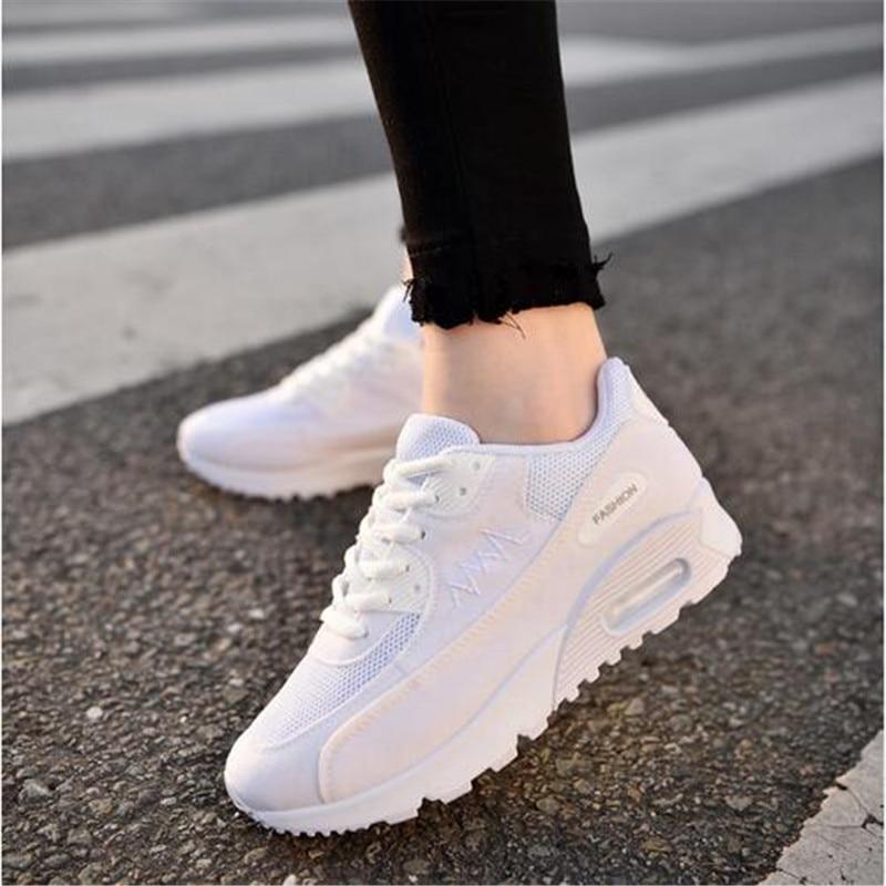 Fashion Korean Women Shoes Spring Tenis Feminino Casual Shoes Outdoor Walking Shoes Women Flats Lace Up Ladies Sneakers SX557 1