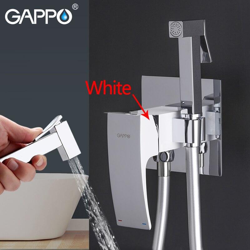 GAPPO Bidet Rubinetti in ottone toilette spray rubinetto placcatura del bicromato di potassio rubinetto bidet bagno bidet doccia di acqua di colonia a spruzzo bagno doccia
