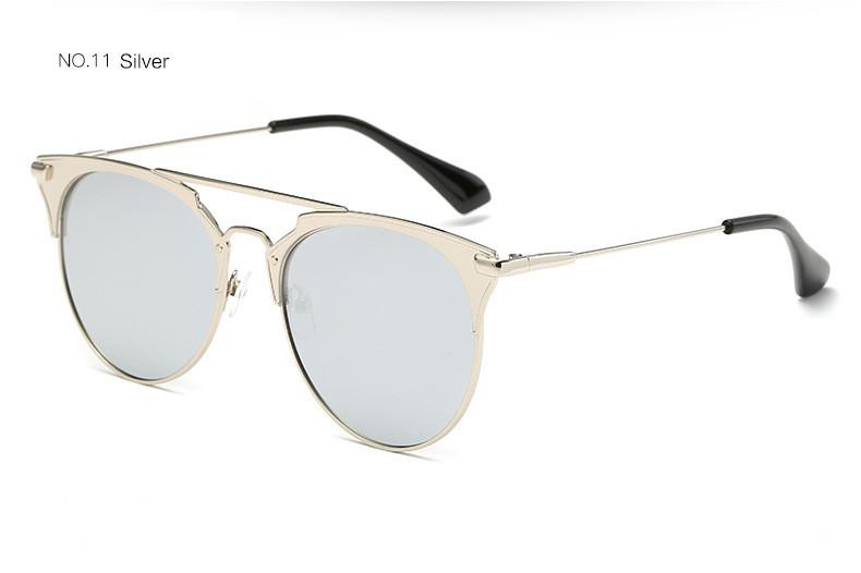 HTB1 M8vfPuhSKJjSspjq6Ai8VXah - Luxury Vintage Round Sunglasses Women Brand Designer 2018 Cat Eye Sunglasses Sun Glasses For Women Female Ladies Sunglass Mirror