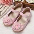 Princess Pearl Lace Shoes Girls Soft Leather Shoes For Party Wedding Breathable Casual Skid-prof Comfortable Shoes