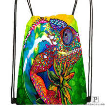 Custom Mandala-Buddhist-Drawstring Backpack Bag for Man Woman Cute Daypack Kids Satchel (Black Back) 31x40cm#20180611-03-144