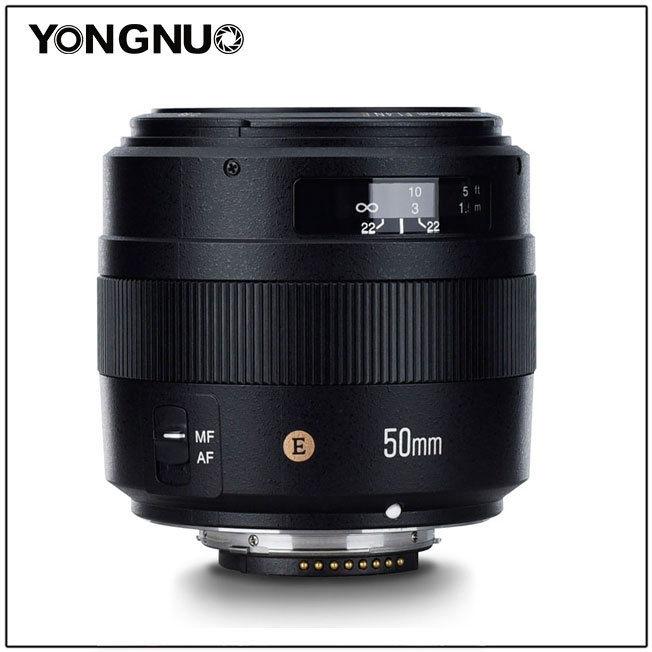 YONGNUO YN50MM F1.4N E Standard Objectif AF/MF pour Nikon D7500 D7200 D7100 D7000 D5600 D5500 D5300 D5200 D5100 D5000 D3400 etc