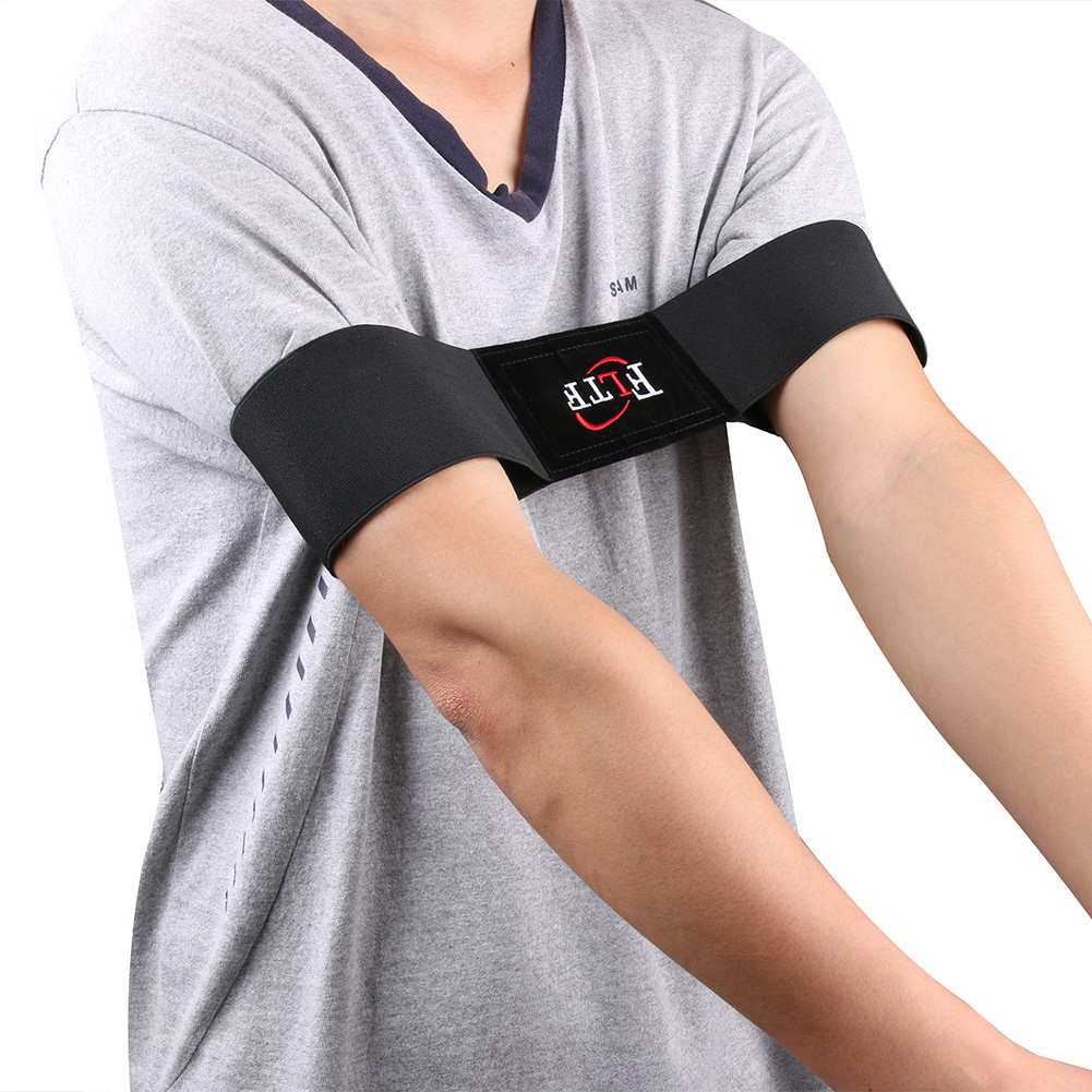 Golf Arm Motion Correction Belt Black Posture Adjustment Belt Golf Training Aids Golf Practice Equipment Accessories