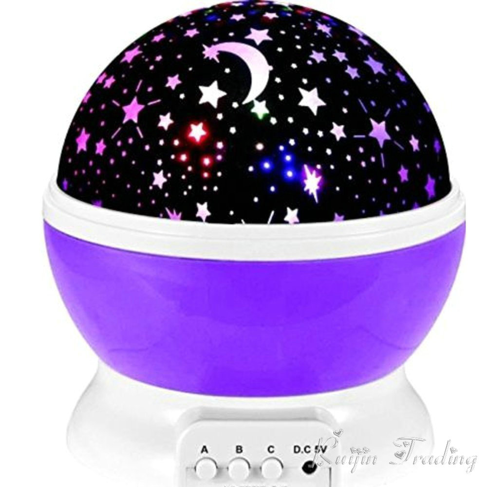 LED Rotierenden Stern Projektor Neuheit Beleuchtung Mond Sky ...