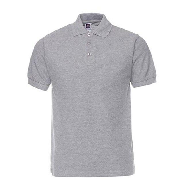 Nueva Marca De camisetas Polo para hombre De algodón De manga corta Polos Camisa Casual De Color sólido Camisa Polo Masculina De Marca S-3XL