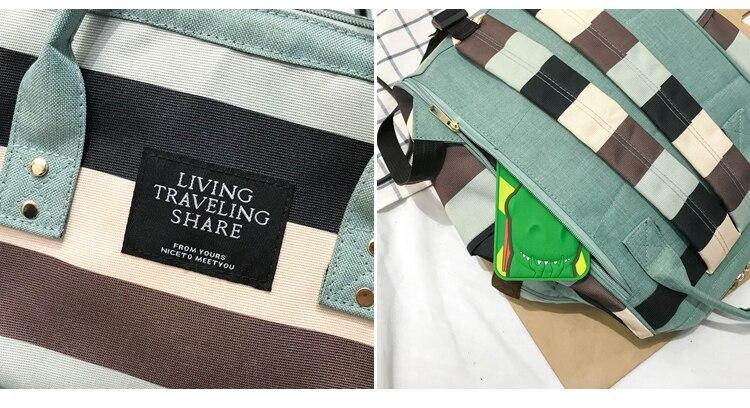 HTB1 MAcUgHqK1RjSZJnq6zNLpXaa 2019 Korean Style Women Backpack Canvas Travel Bag Mini Shoulder Bag For Teenage Girl School Bag Bagpack Rucksack Knapsack
