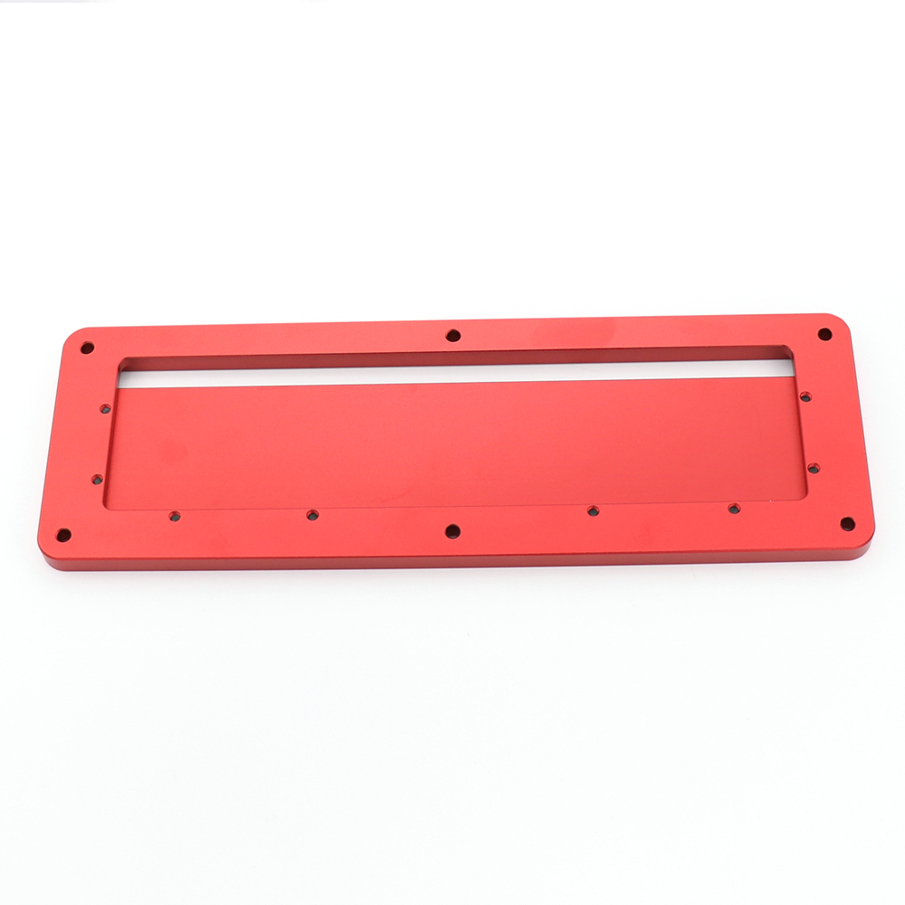 Electric Circular Saw Flip Cover Plate Flip-Floor Table Special Cover Plate Adjustable Aluminium Insert Plate For Table Saw