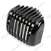 Motorcycle Bike Accessories Black Voltage Regulator Cover Fairing For Harley Softail FXS FXSB FLSTSB FXSTC 2001 2015 2016 2017