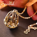 Special New Fashion Gold-plated Necklaces & Pendants Onyx Long Necklace Vintage European Statement Jewelry Gift for Women S1601N