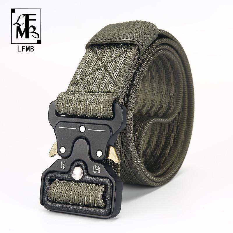 [LFMB]Tactical   Belt   military Male Tactical   Belt   Outdoor Tactical   Belt   Military Nylon   Belt   Outdoor multifunctional ceintures