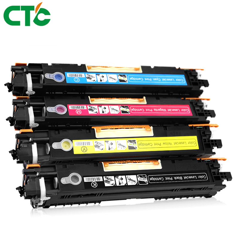 Compatible color Toner Cartridge CE310 CE310A - CE313A 126A 126a 126 for LaserJet Pro CP1025 CP1025nw MFP M175 M275 M275nw