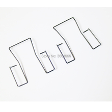 10 Uds nuevos Clips de cinturón Meta para el nuevo Shure ULX U1 ULX1 transmisor de petaca inalámbrico reemplazo Beltpack clips x 10