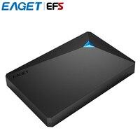 EAGET G20 2,5 zoll 500 GB 1 TB 2 TB 3 TB Festplatten Hohe geschwindigkeit USB3.0 Stoßfest Volle Verschlüsselung Externe Festplatte HDD Für PC