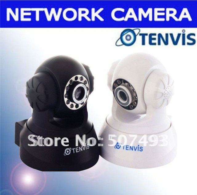 6PCS Wholesale--Free FEDEX Shipping 2-Audio Tenvis ip  Cameras Night Vision--JPT3815W